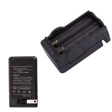 Universal Fast Charge Dual Battery Charger For 18650 16340 26650 3.7V Li-ion US