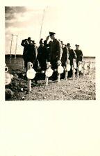 2 x Foto, Wk2, Blick auf Soldatenfriedhöfe (N)20895