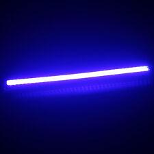 2Pcs Blue Waterproof DRL Daytime Running LED COB Lights Fog Lamp Bar