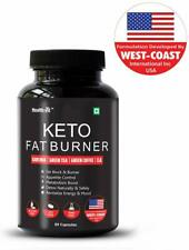Healthvit Keto Fat Burner With Garcinia Green Tea Green Coffee CLA 60 Capsule FS