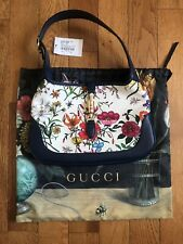 GUCCI Jackie Medium Size Flora Bag 550152