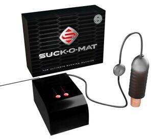 Suck-O-Mat saug Sex Melk Maschine Masturbator