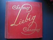 Album complet chromos Liebig de 50 pages de 6 chromos(descriptif en néerlandais)
