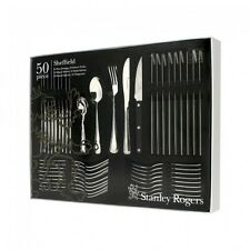 STANLEY ROGERS Sheffield 50 Piece Cutlery Quality Stainless Steel