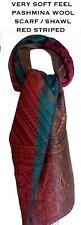 Womens Scarf Shawl pashmina Red Wrap Wool Long Soft Neck Warm Free Shipping