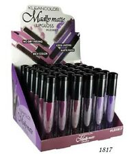 11 sets 66 pcs Kleancolor Madly MATTE METTALIC Lip gloss Vivid Purple Red Pink