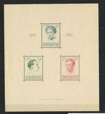 Luxembourg, Postage Stamp, #217 VF Mint NH Sheet, 1939