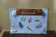 TOMMY BAHAMA Set Of 4 Placemats Summer Water Reliant  C4B /AC240