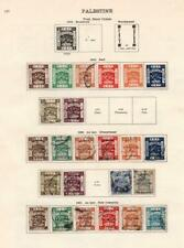 PALESTINE/PAHANG: 1891-1921 - Ex-Old Time Collection - 2 Sides Page (33156)