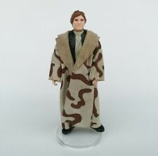 Star Wars Vintage Kenner Han Solo Endor In Trench Coat. Original