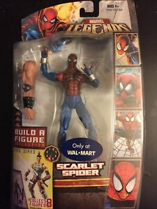 Marvel Legends Walmart Scarlet Spider Ares Wave