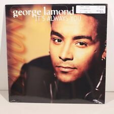 GEORGE LAMOND  It's Always You  12 inch  1994 Tommy Boy Music New Sealed