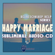 Subliminal Relationship Help Series: Happy Marriage Subliminal audio CD