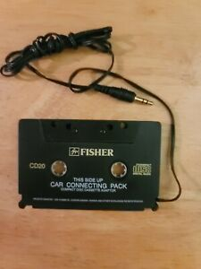 Portable CD MP3 to Cassette Car Adapter Fisher brand