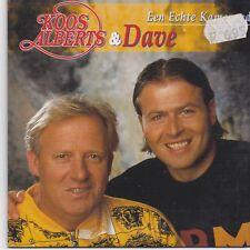 Koos Alberts &Dave-Een Echte Kameraad cd single