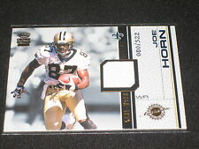 JOE HORN SAINTS PACK PULLED CERTIFIED AUTHENTIC FOOTBALL JERSEY CARD #80/522