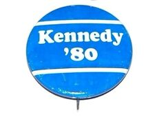 1980 TED KENNEDY campaign pin pinback button political presidential election
