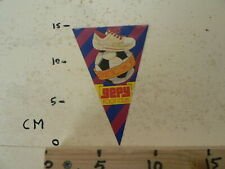 STICKER,DECAL GEPY ATLETIC SHOES GEPY FOOT CLUB VOETBAL SOCCER FOOTBALL