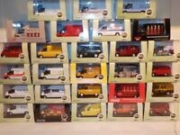 Ford Transit Vans, Oxford 1/76 (One Postage, Buy all you want)