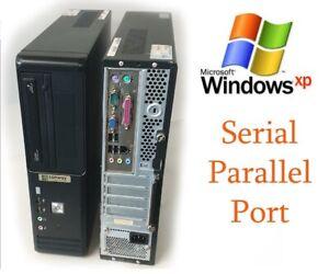 Window XP Desktop Computer Intel 2GB RAM 250GB HDD Serial , Parallel Port Ready