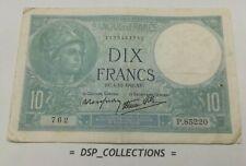 Banknote / Billet - France 10 francs MINERVE 4-12-1941 / n°95-B01