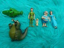 New ListingDisney Peter Pan lot Figures Cake Topper Tinkerbell Mr Smee Tic Toc Croc Pvc