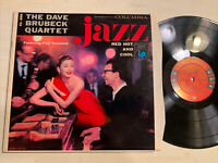The Dave Brubeck Quartet Jazz Red Hot And Cool LP Columbia Mono 6 Eye M-/M-!!!!