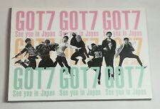 GOT7 see you in japan DVD Fan club limited