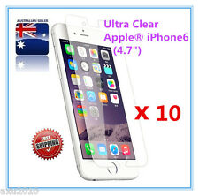 """Free Post 10 x Ultra Clear Screen Protector For Apple® iPhone  6 (4.7"""") from OZ"""
