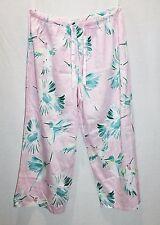 Peter Alexander Designer Pink Bird Print PJ's Lounge Pant Size XL LIKE NEW #SJ10
