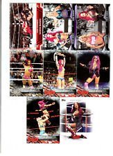Sasha Banks Wrestling Lot of 8 Different Trading Cards 3 Inserts WWE NXT SB-D1