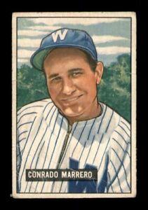 1951 Bowman Set Break # 206 Conrado Marrero GD *OBGcards*