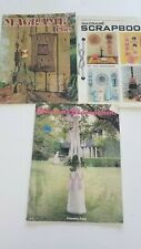 Lot of 3 Macrame books Scrapbook Enchantment Plus Patterns For Every Room