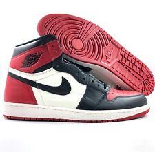Nike Air Jordan 1 Retro High OG Bred Toe Red Black White 555088-610 Men's 16