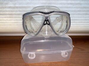 Aqua Lung Technisub Mythos Mask Silver 505310 Scuba ***Package Discount***