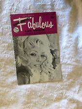 Fabulous Las Vegas Magazine Wayne Newton Donna Wallace Clara Ward 3/29/1969