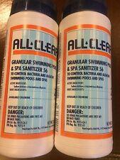 Leisure Time Spa/Hot Tub Chemical Spa 56 Chlorinating Granules 2- 2lb. Bottles