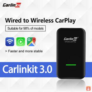 Carlinkit 3.0 Apple CarPlay Wireless Dongle Activator IOS 14 Plug And Play Car