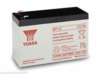 GENUINE YUASA Batteries To Build RBC 48 Battery Pack for APC UPS Needs Assembly