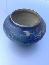 Newcomb College Art Pottery Bowl Vase 1900's