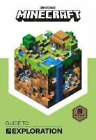 Lk NEW Minecraft Guide to Exploration Official Minecraft Book Mojang Hardcover