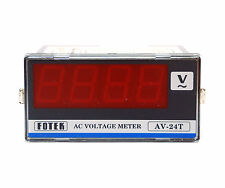 10pc Fotek AC Voltage Meter AV-24T 3-1/2 Digit 0~600V 48x96 Accuracy ±0.2% FS