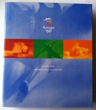 2000 UNC $5 SYDNEY OLYMPIC GAMES 28 COINS IN FOLDER