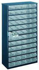 Raaco 1260-00 60-Drawers Steel Storage Cabinet - Blue