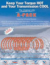 700R4 4L60 4L60E Alto 14 Plate Red Eagle Performance 3-4 A-Pack Rebuild Kit
