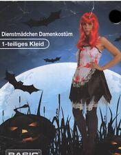 Dienstmädchen Damen  Kostüm für Erwachsend Gr. S/M