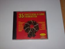 THE MUSIC MAKERS - 35 PARTY SING-A-LONG FAVOURITES, 1987 (PICKWICK COMPACT DISC)