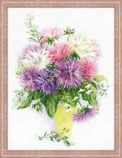 """Counted Cross Stitch Kit RIOLIS - """"Asters"""""""