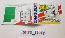 Nintendo Game Boy Super Kick Off Notice / Instruction Manual