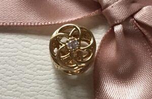 Pandora 14ct Gold Loving Bloom Charm